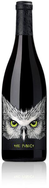 Tenet Syrah The Pundit PD #wine #winelabels