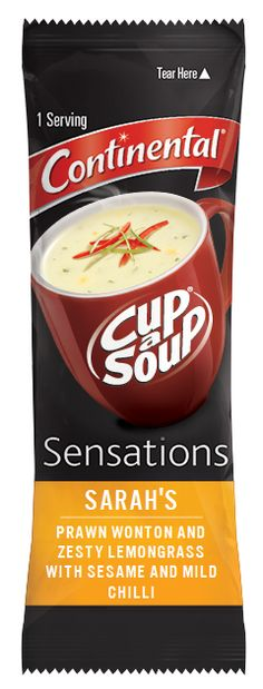 I just created the next Cup a Soup Sensations flavour and am in the running to win 10 000 dollars. To enter, visit http://www.cupasoup.com.au/mysensations