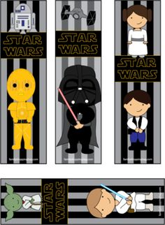 free printables from star wars | Bookmarks, Star Wars, Bookmarks - Free Printable Ideas from Family ...