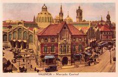 POSTALES DE VALENCIA: MERCADO CENTRAL