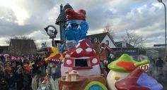 Terugkijken: Carnaval in Zwaag - NH | Noord-Holland Smurfen on tour 2016