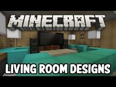Modern Living Room Minecraft minecraft living room designs | minecraft | pinterest | minecraft