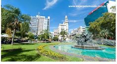 Plaza Fabini - Montevideo - Uruguay.