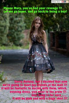 Walking, Sissy Antony !!! (Chloe Sissi)
