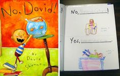 No, David! Kids act out correct and incorrect ways to do things in the classroom. Then, create a class book.