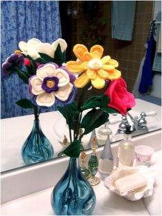 Art Threads: Monday Project - Felt Flowers