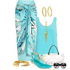 Outfit for Luau -Scarlett