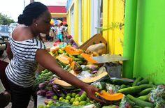 Basseterre market