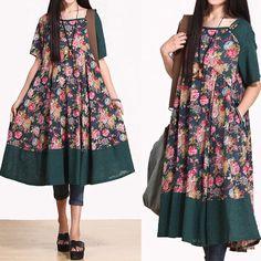 Floral Dress - Buykud
