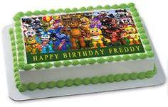 Fnaf World 2 Edible Birthday Cake Topper OR Cupcake Topper, Decor #edibleprintsoncake, #ediblecaketopper, #ediblecakeimage,