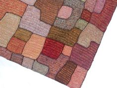 Sophie Digard Modern Tote Bag - close up - crochet