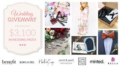 Win $3,100 in #Wedding Prizes via @bowsnties Wedding #Giveaway. Enter + Win here: http://virl.io/gqrBhtrO