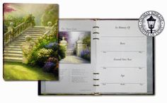 Thomas Kinkade® Stairway to Paradise Guest Registry Sign-In Book