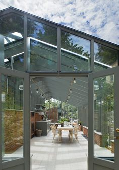 """Awesome """"greenhouse ideas interior design"""" detail is available on our internet site. Have a look and you wont be sorry you did. Greenhouse Attached To House, Diy Greenhouse, Outdoor Spaces, Outdoor Living, Outdoor Decor, Orangerie Extension, Magic Garden, Garden Design, House Design"""