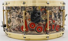 It was a tough choice - Dookie, or Bunny snare. I went with the Bunny snare. - T SJC - Tre Cool/Dookie (Steambent Maple)