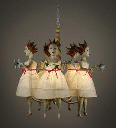 A little more than a little creepy.  Kathy Ruttenberg
