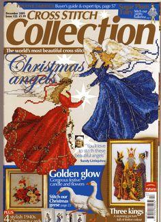 Gallery.ru / Photo # 1 - 125 December 2005 - anfisa1 Cross Stitch Fairy, Cross Stitch Angels, Xmas Cross Stitch, Cross Stitch Books, Beaded Cross Stitch, Cross Stitching, Cross Stitch Embroidery, Cross Stitch Patterns, Stitch And Angel