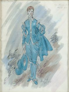 'Miss Parlow - The Blue Boy' by Cecil Beaton, c1950