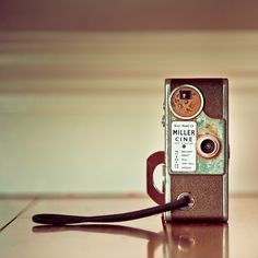 vintage 8mm movie camera is a classic piece of retro history, photo by CubaGallery
