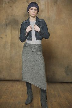 Ravelry: Skirt with Ribbed Detail pattern by Teva Durham
