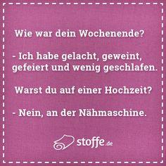 Wer kennt's? #sprüche #meme #quote #nähen