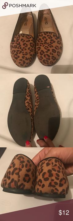 EUC Abound Cheetah Print Loafers EUC #Abound #cheetah print #flats from #Nordstroms. I purchased these from another posher, thinking they'd fit [i usually wear a 5.5], but they didn't. My loss is your gain. I never wore these out. In excellent condition! Open to fair offers; bundle to save! #animalprintflats #size5 #animalprints #cheetahprint #leopard #leopardprint #loafers Abound Shoes Flats & Loafers