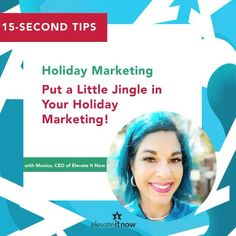 Happy Tuesday friends and fans! 🤩 Who is ready to put a little jingle in their holiday marketing? 🎶🎄🦃🎅🏼 I am! 🙋🏻‍♀️⁣ ⁣ ⁣ ⁣ ⁣ ⁣ #HappyTuesday⁣ #HolidayMarketing⁣ #ElevateItNow15SecondTips⁣ Prince William County, Holiday Market, Happy Tuesday, Fans, Success, Marketing, Friends, Amigos, Followers
