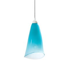 GLASS LAMP pastel turquoise. A charming addition to your home, this glass pending lamp is crafted by hand and features a coloured finish that may vary among the products. Glass comes from the hand-made collection. What makes this product extraordinary is that each lamp has its own colour, shape and drawing on glass. #pendant #lamp #glass #design #interior #interiordesign #decor #handicraft #gieel