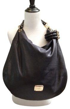 Black Leather Hobo Bag d0e263bd50492
