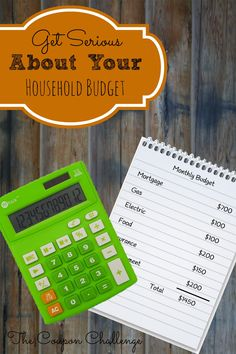 This week we are pausing to look back and get serious about your household budget.  It's time to look at some drastic ways to reduce your expenses, so you can pay more toward your debt or save.