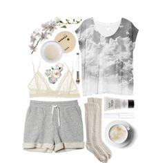 """""""Creme"""" by respira on Polyvore"""