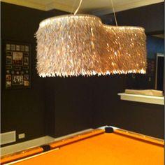 Jennifer's awesome pool table light!