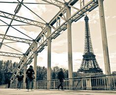 Tower and Bridge by Joanna Lemanska