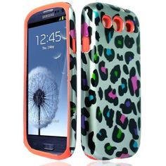What do you think about getting new protector case for your Samsung S3? Hybrid Color Leopard protector case is the best choice for you!