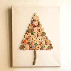 Driftwood Christmas Tree,Christmas Decoration,Holiday Decor,Children's Wall Art