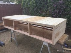 build a farmhouse style planked x tv console or sideboard Remodelaholic Diy Furniture Plans, Farmhouse Furniture, Woodworking Furniture, Farmhouse Decor, Woodworking Plans, Woodworking Machinery, Farmhouse Table, Wood Furniture, Woodworking Projects
