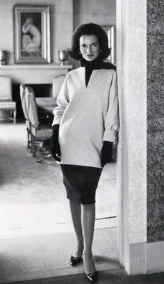 Lee Radziwill, voted among the World's Best Dressed Women for 1962 in the annual International Fashion Poll