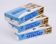 Shrimp packaging