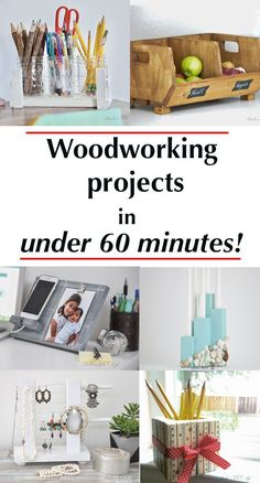 Scrap wood projects that are fun, easy and quick to make. These small wood projects also make the perfect kids or beginners woodworking projects! wood projects projects diy projects for beginners projects ideas projects plans Small Woodworking Projects, Easy Small Wood Projects, Wood Projects For Beginners, Scrap Wood Projects, Learn Woodworking, Wood Working For Beginners, Diy Pallet Projects, Woodworking Crafts, Woodworking Furniture