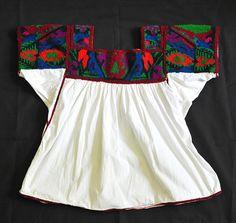 Mexican Nahua Blusa Hidalgo