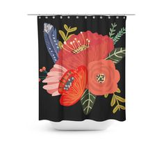 This beautiful and elegant Boho Chic shower curtain will make your bathroom look amazing. This is the perfect accessory for any bathroom or shower where you are looking for that special touch of desig