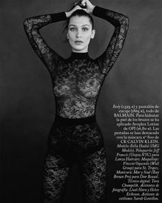 Bella Hadid for S Moda photographed by David Roemer