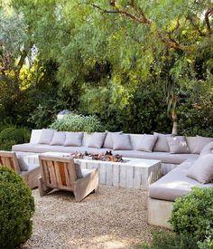 elegant lush drought tolerant backyard