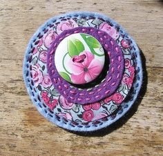 Bohemian Handmade Unique Brooch by OfficinaBohemica on Etsy