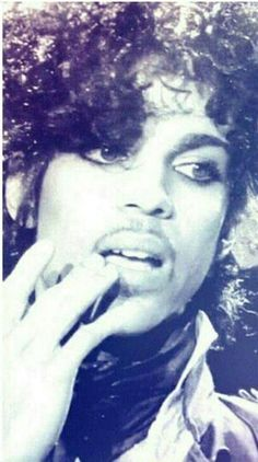 Classic Prince | 1982-1983 '1999' Era - Very nice color effects on a vintage rare 1999 promo photo!