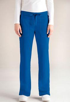 "Grey's Anatomy Women's Low-rise Scrub Pant ""Callie"" Style #2207-NationalScrubs.com Super cute low rise waist, cargo style scrub pant."