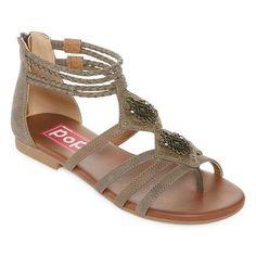 fb4edb5a7 Pop Prescilla Womens Flat Sandals Strappy Sandals
