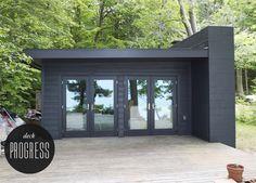 cool modern cabin