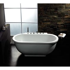 Http://steam-baths.com/whirlpool-massage-jacuzzi-bathtub/single ... Whirlpool Badewanne Thais Art