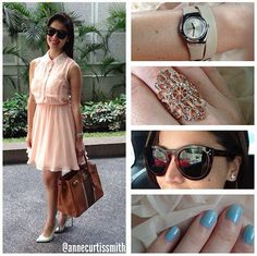 Simple and elegant Anne Curtis Outfit, Anne Curtis Smith, Love Me Forever, My Princess, Dress Me Up, Outfit Of The Day, Going Out, Fashion Beauty, Ootd